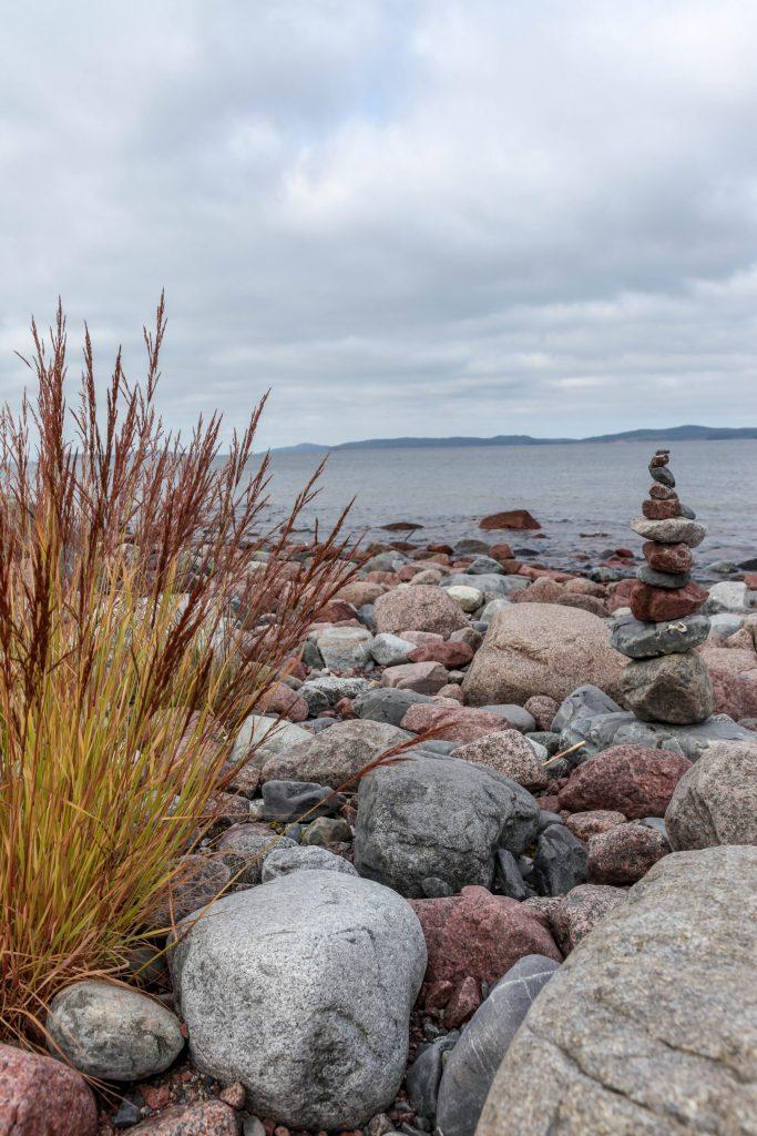 Stranden i Norrfällsviken